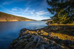 Fin de journée sur le Lac des Rousses