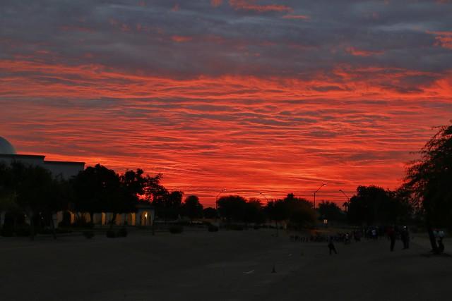 Sun rise in Goodyear, Canon EOS 70D, Tamron AF 18-270mm f/3.5-6.3 Di II VC PZD
