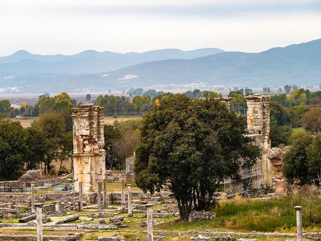 Archaeological site of Philippi, Panasonic DMC-G6, Lumix G Vario 14-140mm F3.5-5.6 Asph. Power OIS