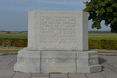Mémorial Canadien de Courcelette  Somme 14-18 - Photo of Cayeux-en-Santerre