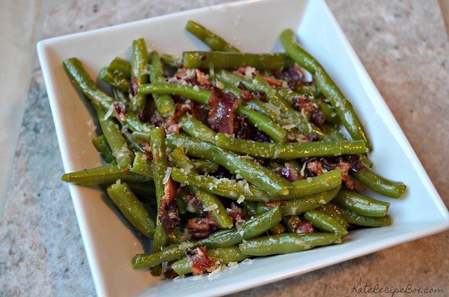 Bacon Parmesan Green Beans