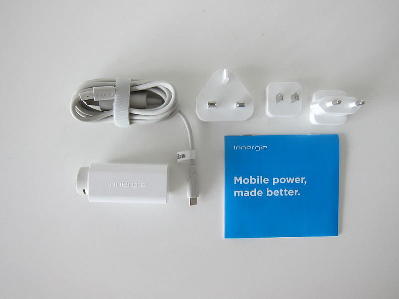 Innergie 60C USB-C Laptop Adapter - Box Contents