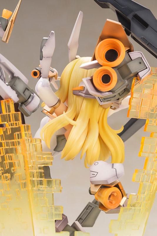 壽屋《Frame Arms Girl 骨裝機娘》芭莎菈露多 -SESSION GO!!- (フレームアームズ・ガール バーゼラルド -SESSION GO!!-)PVC塗裝完成品