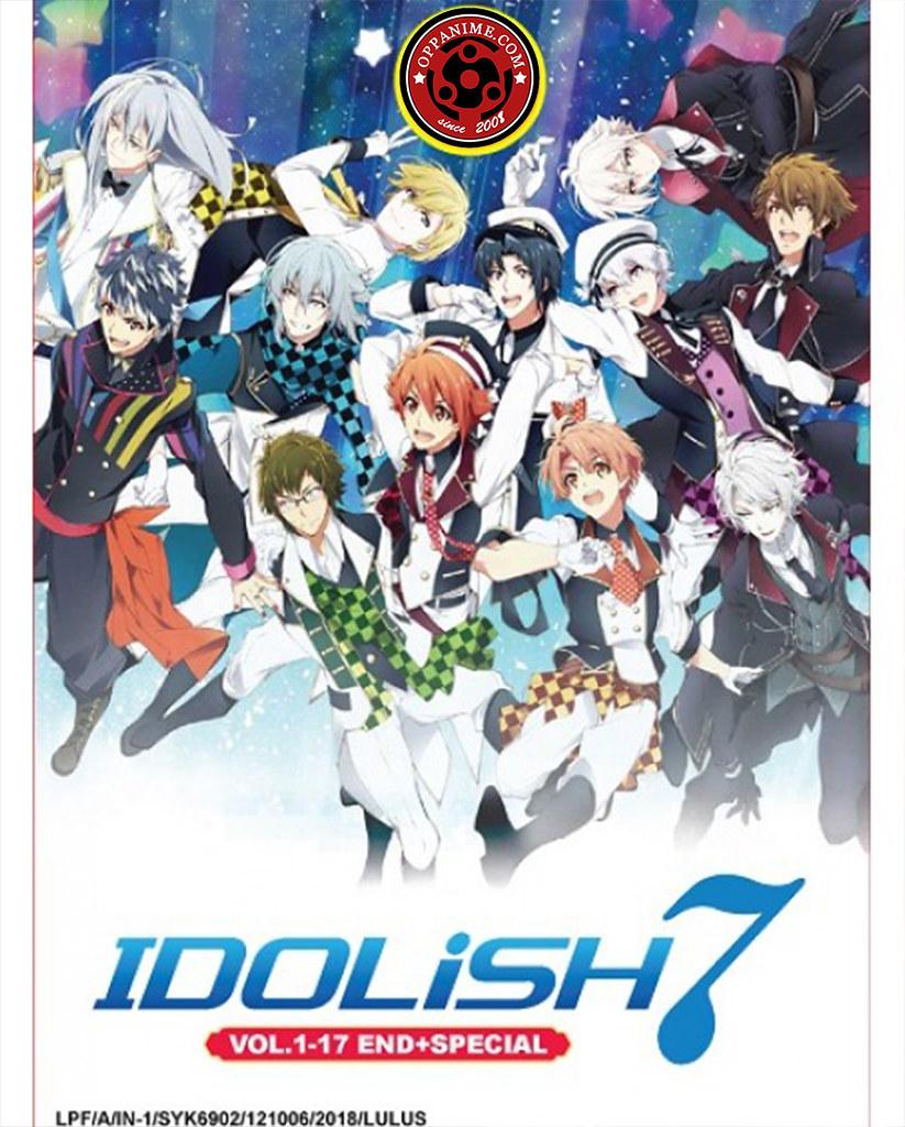 Idolish 7 Vol.1-17 End + Special Anime DVD