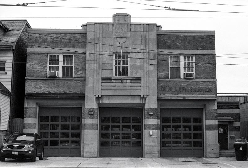 Gerrard St. Art Deco Fire Station