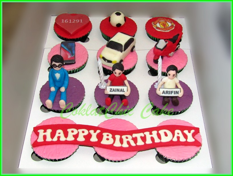 Cupcake Set for Man