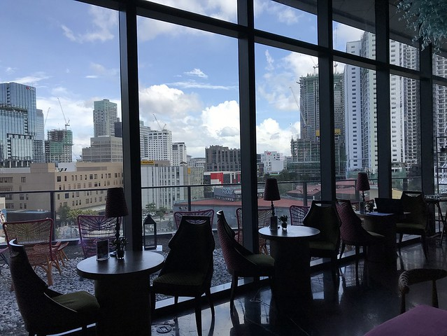 Avenue Bar, view from the window