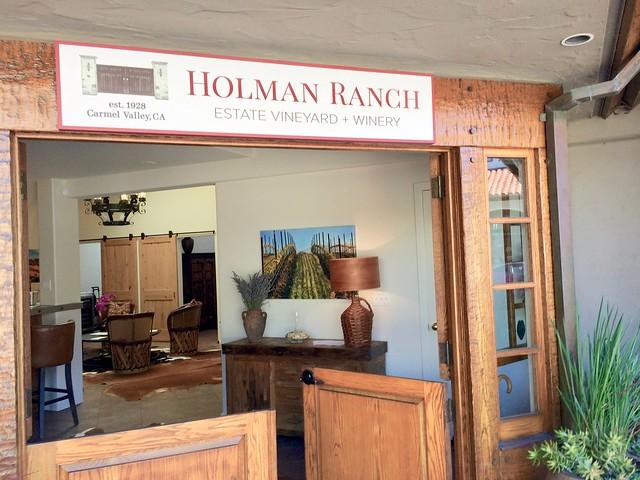 Holman Ranch Tasting Room, Carmel by the Sea, CA