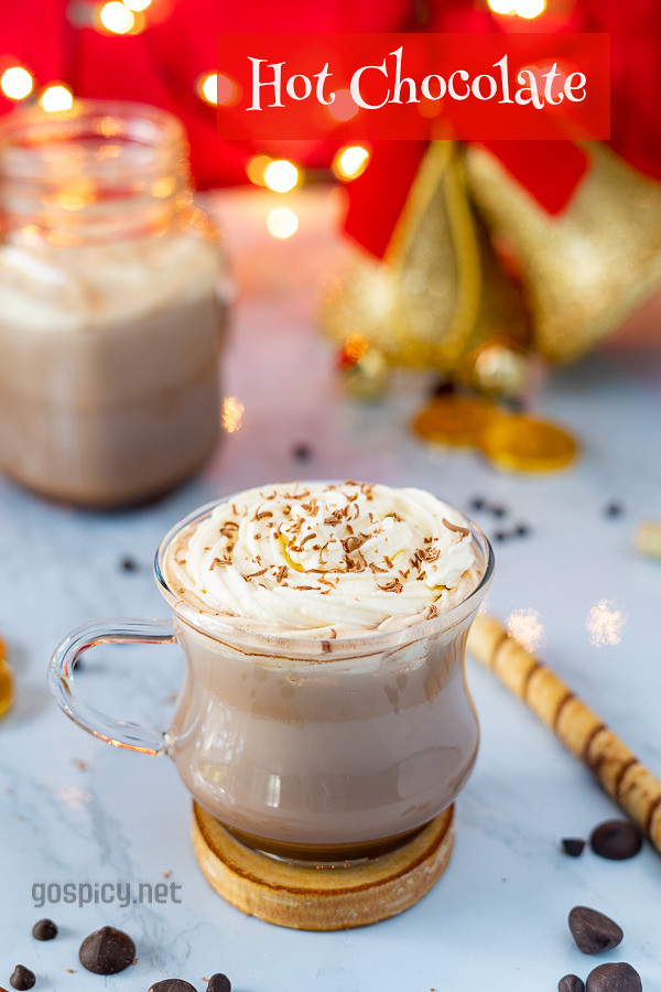 Hot Cocoa Recipe by GoSpicy.net