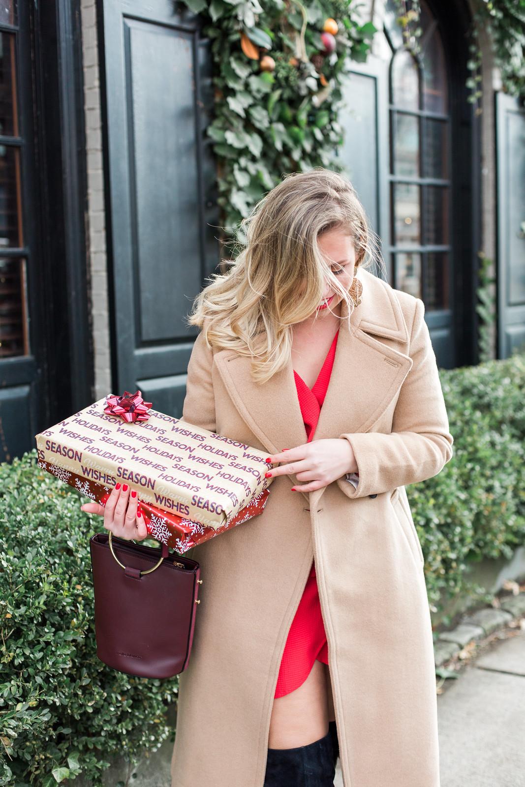 Club Monaco Daylina Camel Coat   10 Classic Winter Coats You'll Never Regret Buying   Darien, CT Kristina Staal Photography