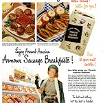 Mon, 2018-12-10 16:46 - Meat Makes Breakfast Better - 1949 Amour Meats ad