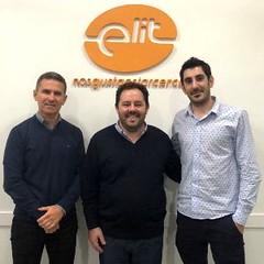 Claudio Rattero, Elit; Gonzalo de la Fuente, Intel; Matias Strassera, Elit