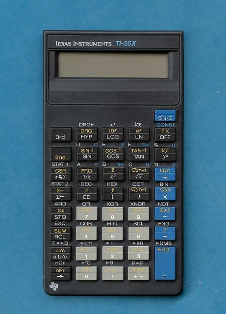 Texas Instruments TI-35X