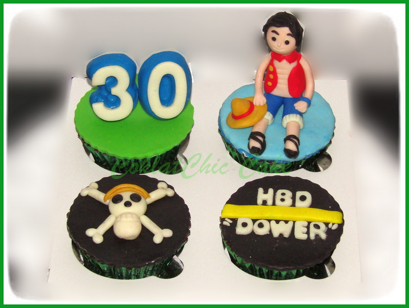 Cupcake set One Piece