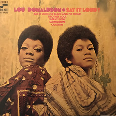 LOU DONALDSON:SAY IT LOUD!(JACKET B)