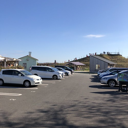 ソレイユの丘キャンプ場 フリーサイト用駐車場