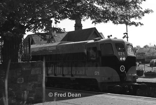 Irish Rail 071 in Thurles.