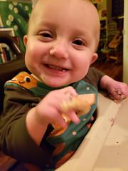 Eliza REALLY likes waffles