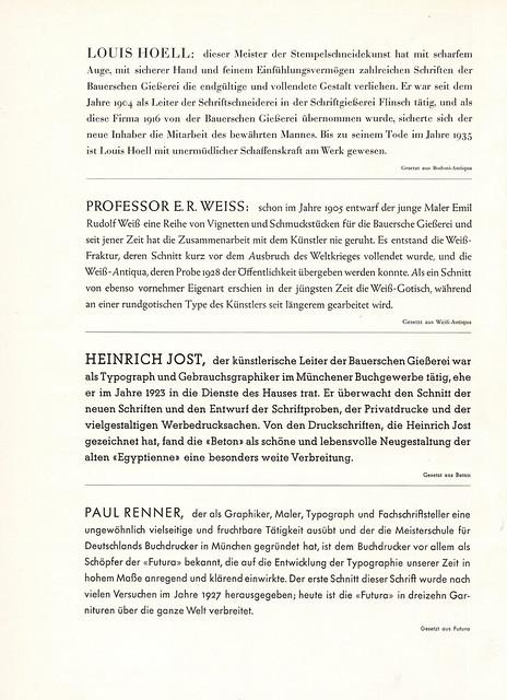 Hoell, Weiss, Jost, Renner