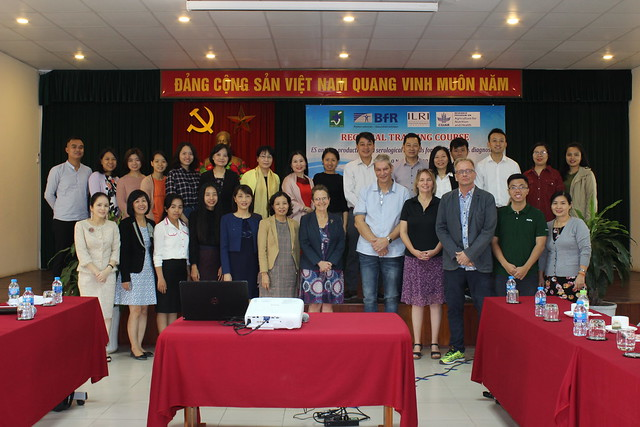 Training on trichinellosis diagnosis, 26-30 November 2018 at NIVR, Hanoi