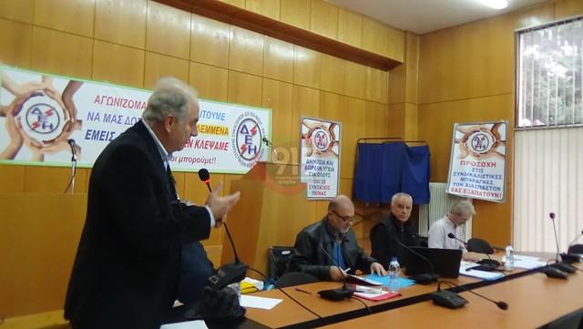 Ενημέρωση συνταξιούχων στην Τρίπολη