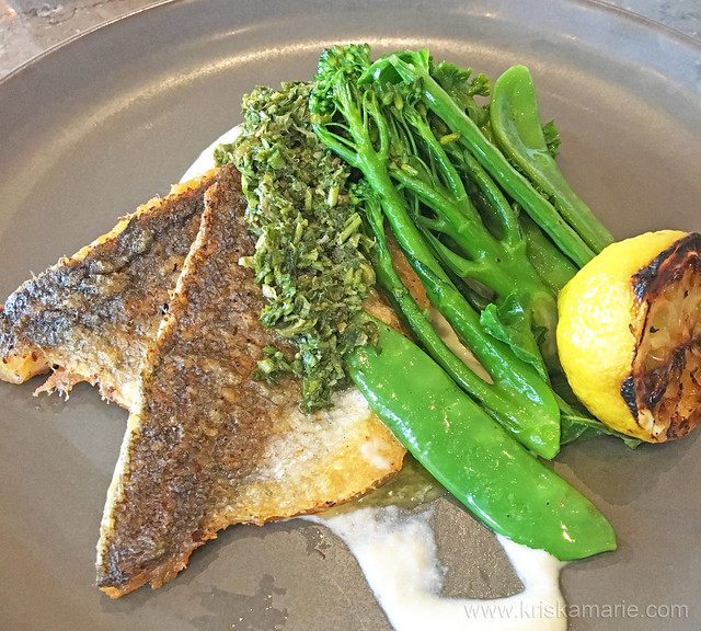Pan Seared Sea Bass from Qwerty