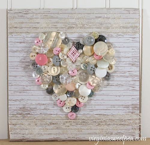 heart with buttons