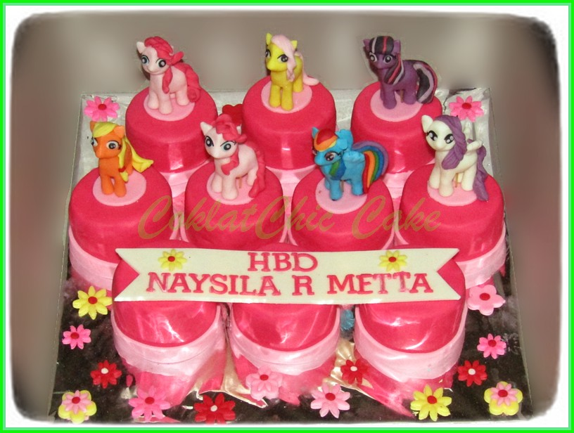Minicake set My Little Pony