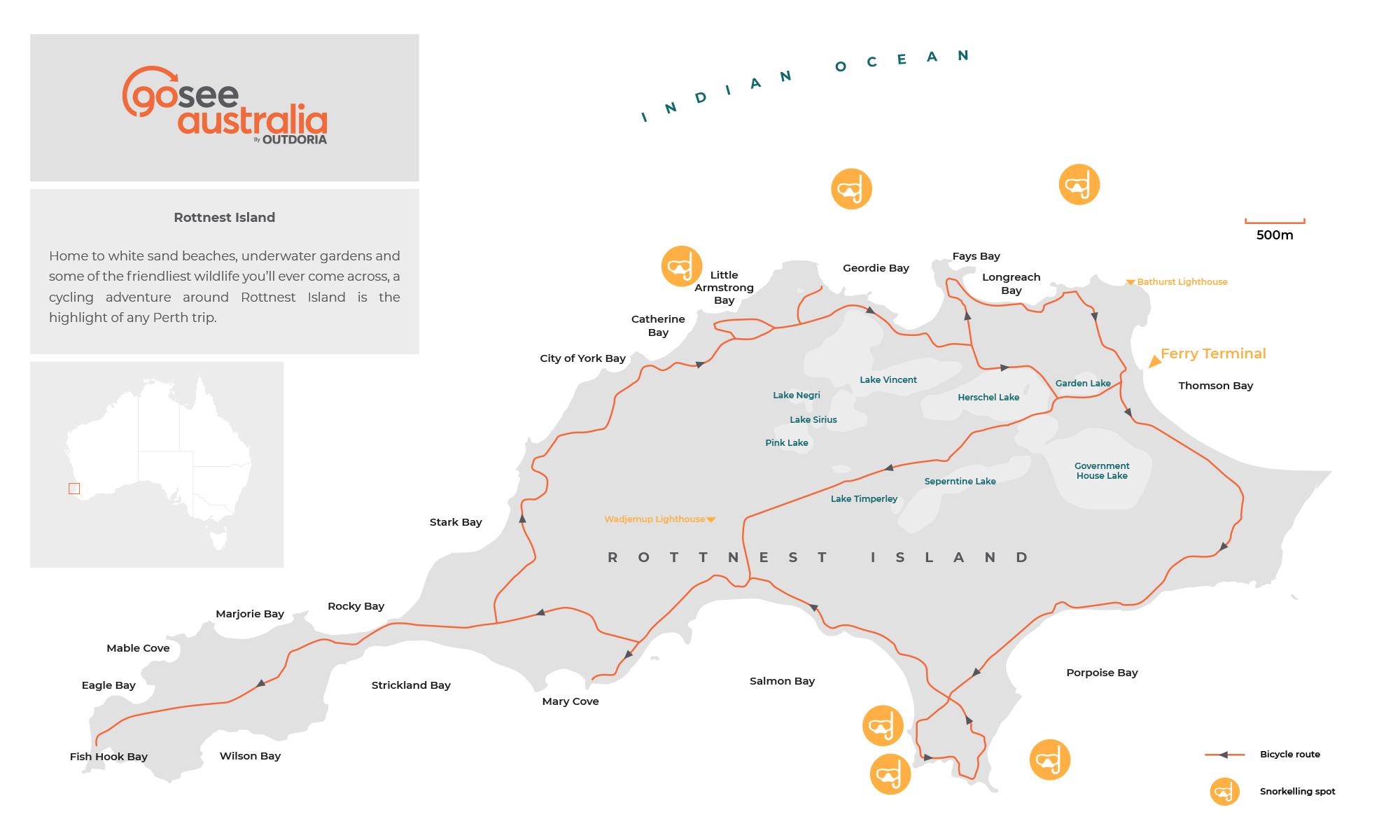 rottnest-island-map