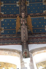 chancel roof angel (FE Howard, 1930)