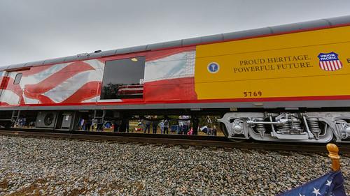 41 4141 bush funeral georgehwbush president train spring texas unitedstates us