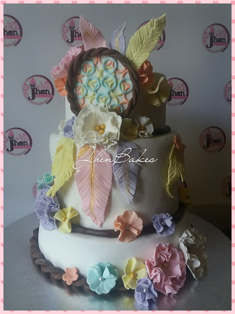 Cake by Anna Jessica Rio of Jhen Bakes