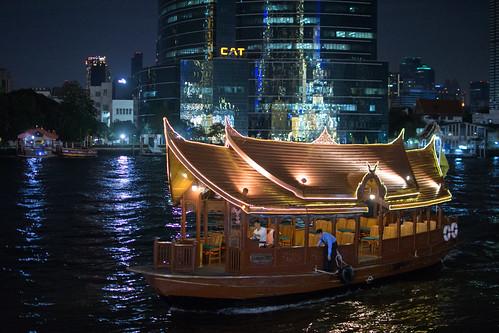 Ferry, Chao Phraya River, Bangkok