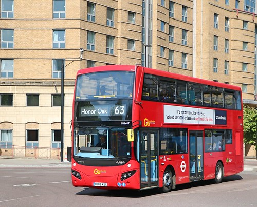 Go Ahead London Central - MHV47 - BG66MJX