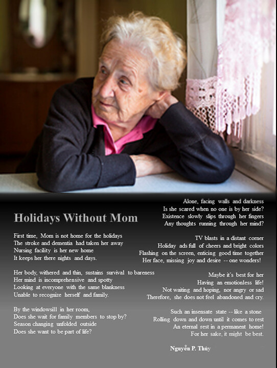 Holidays Without Mom