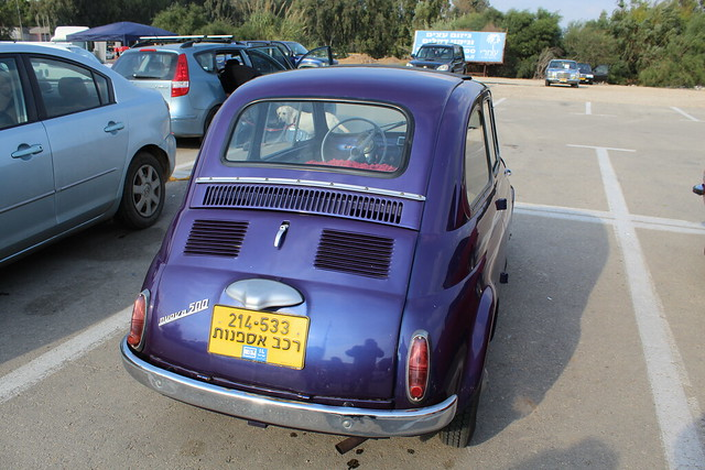 FIAT 500 , ISRAEL, Canon EOS 4000D, Canon EF-S 18-55mm f/3.5-5.6 III