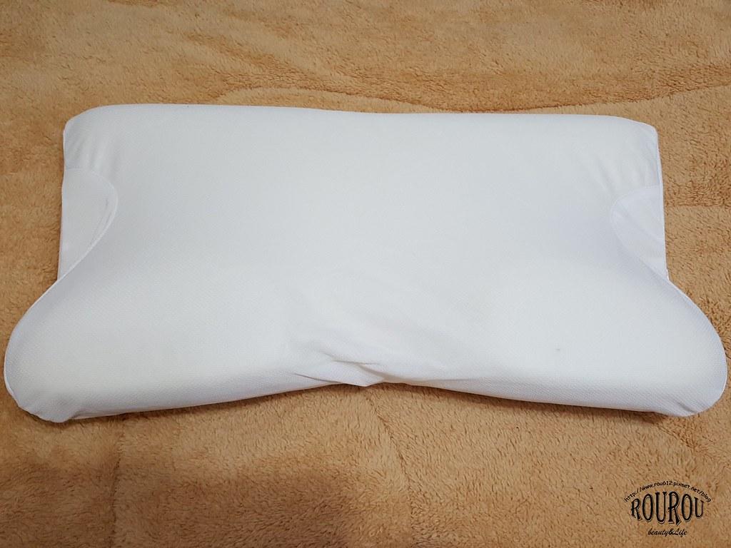 4D防鼾蝶型記憶枕6