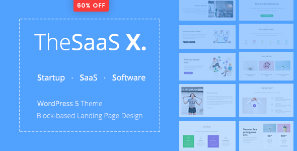 TheSaaS X v1.0.0 - Responsive SaaS, Startup & Business
