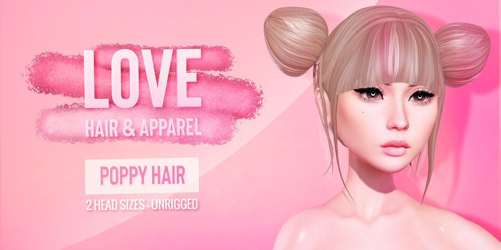 Love [Poppy Hair] - The Saturday Sale! - TeleportHub.com Live!
