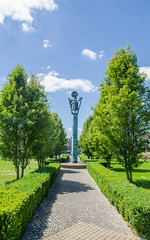 Statue-colonne dédiée à Nicolas Appert