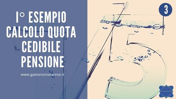 46997010381_167c8d2386_z Calcolo quota cedibile pensione