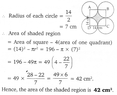 NCERT Solutions for Class 10 Maths Chapter 12 Areas Related to Circles 45