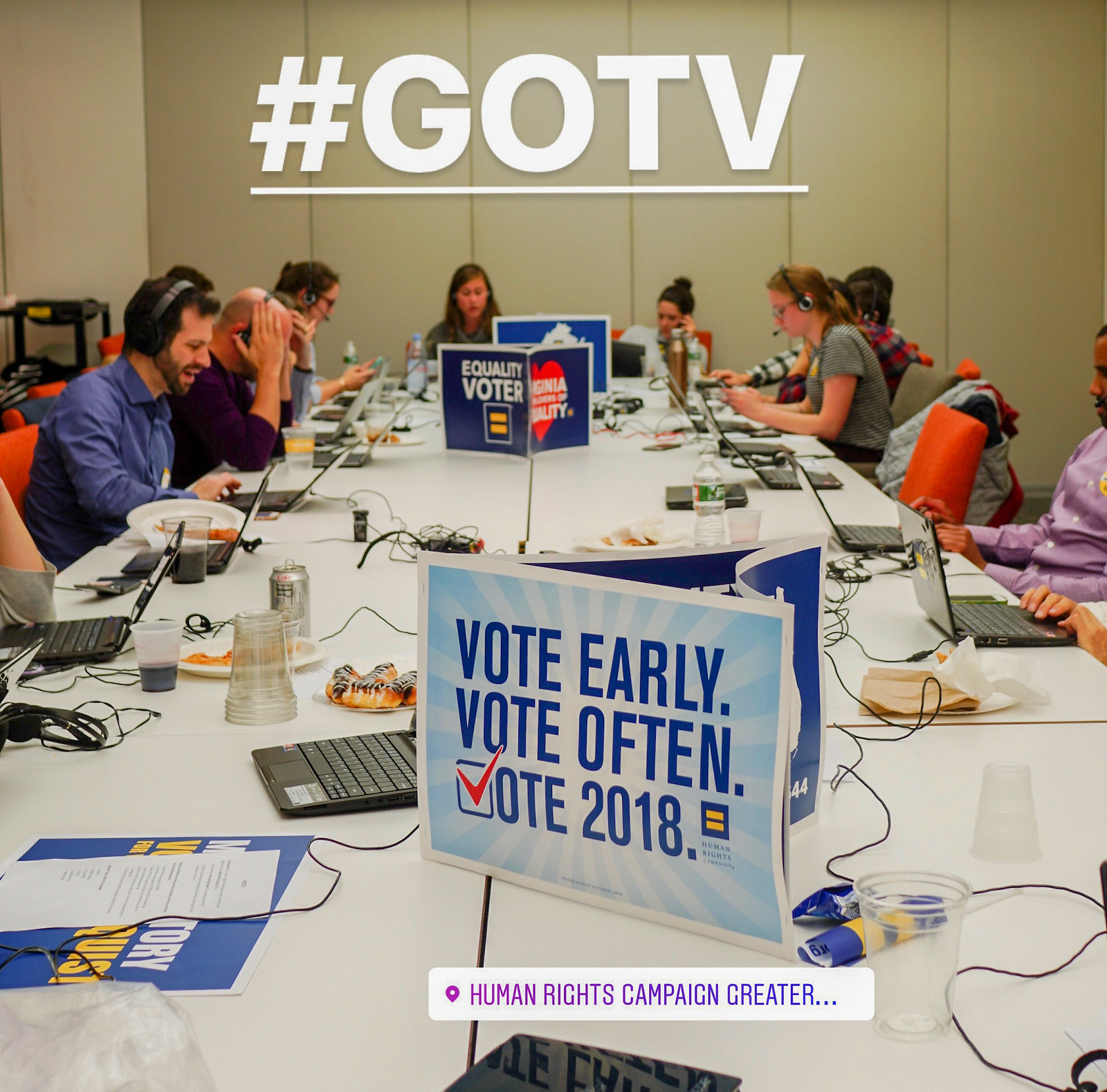 2018.11.05 Get Out The Vote GOTV, Washington, DC USA 2