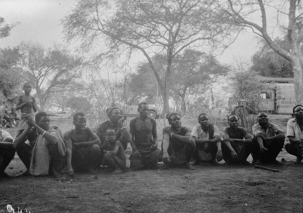 Катаба. Групповой портрет местных жителей