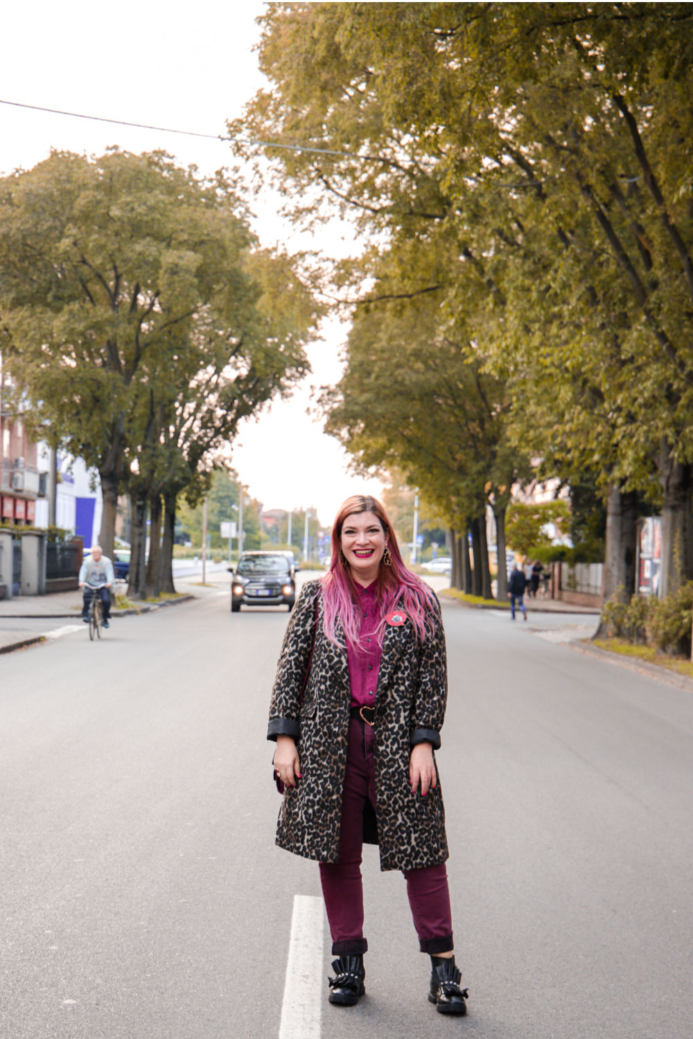 outfit plus size cappotto leopardato animalier (7)