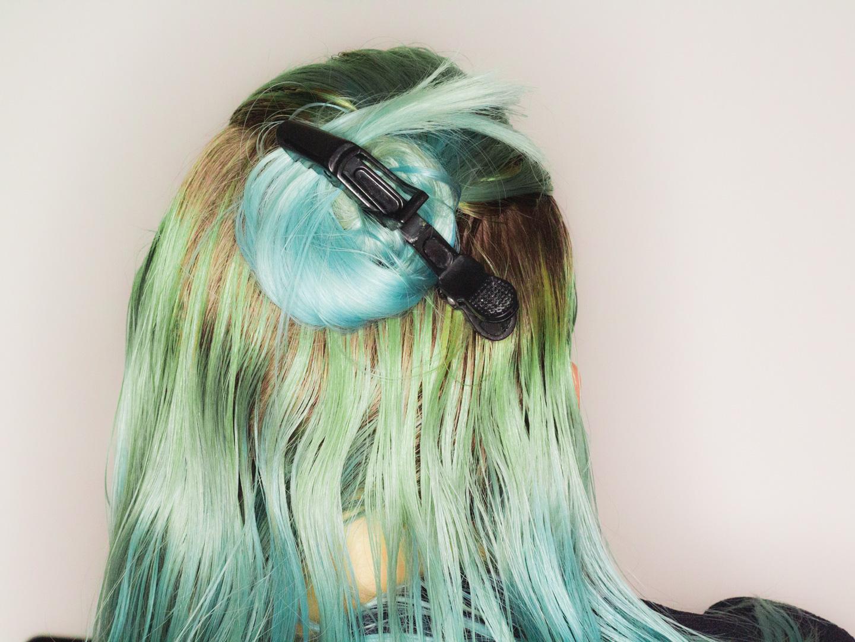 Verdeel het haar