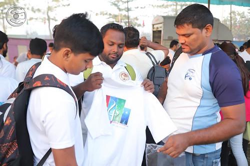 T-shirts distribution center