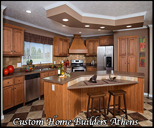 custom home construction in Athens