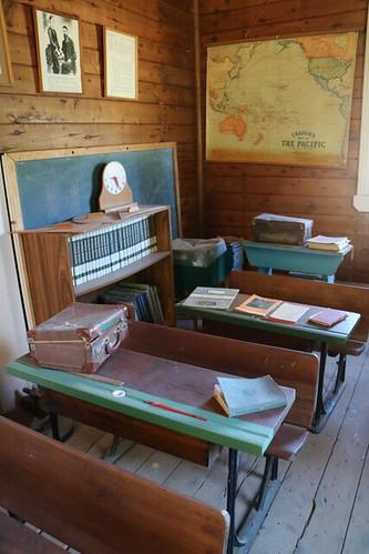 Myrtle Bank School room, Finley Historical Museum, NSW