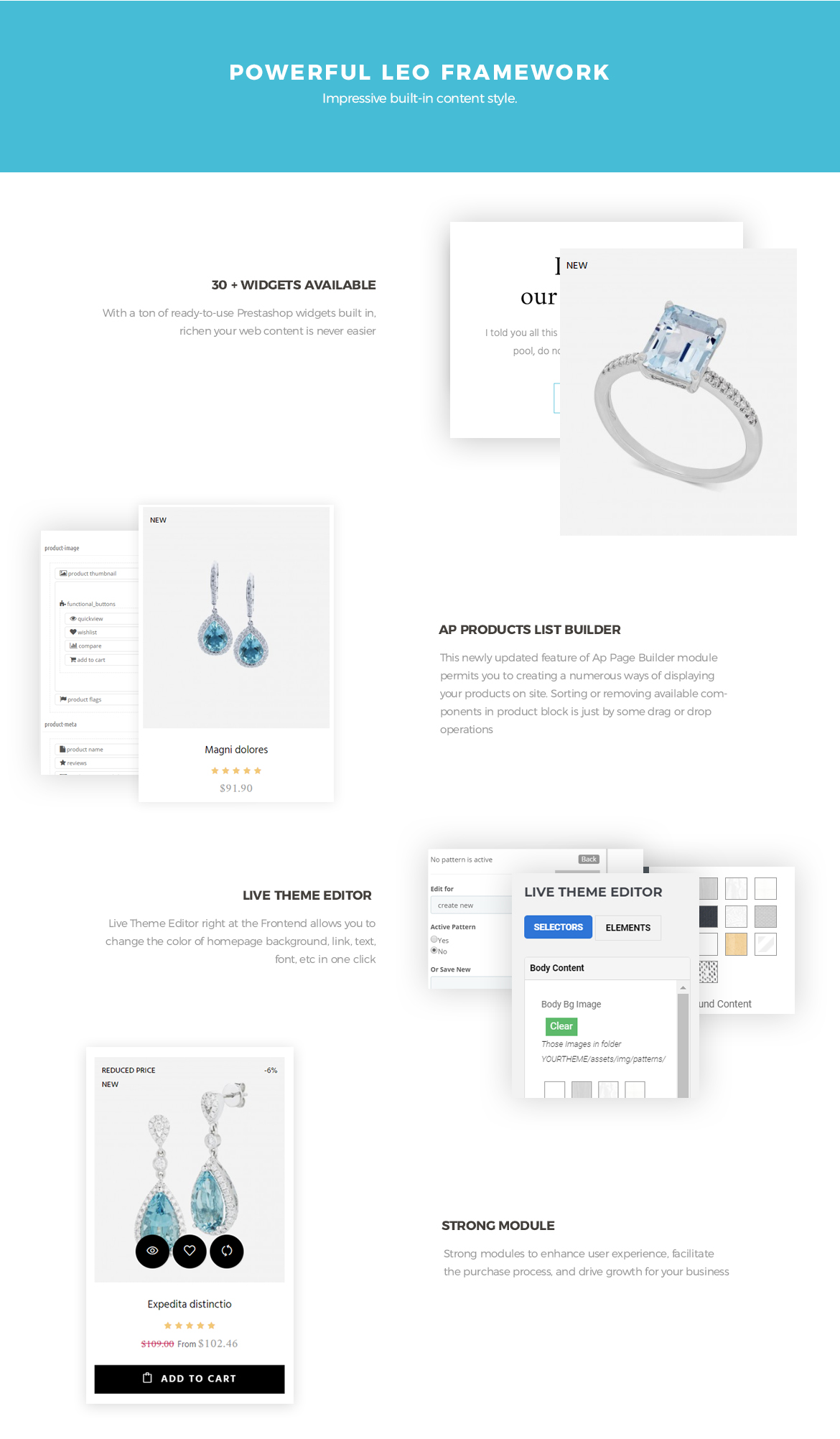 Excellent Prestashop Jewelry theme 17
